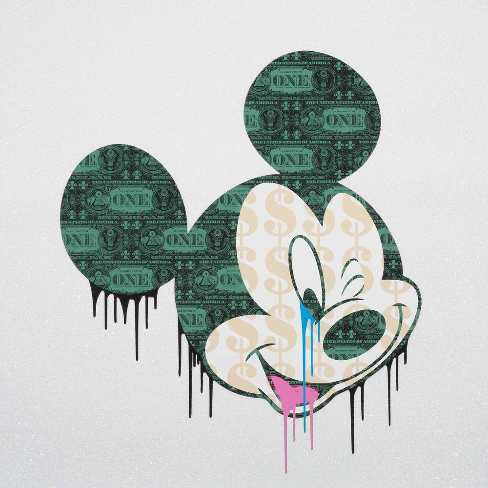 Popaganda Mickey - Diamond Dust by Ben Allen