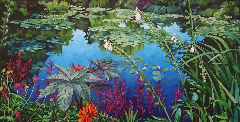 Pond Life by Cat Croxford