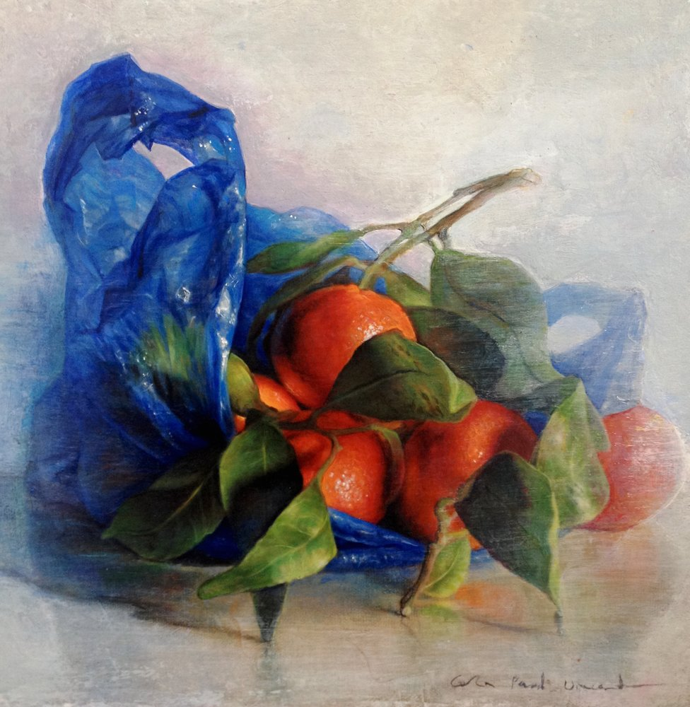 Blue Plastic Bag by Colin Vincent