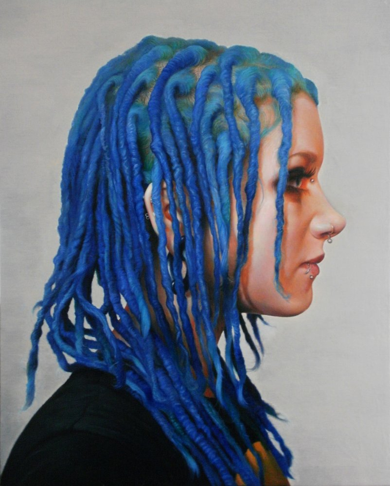 Blue Hair by Colin Vincent