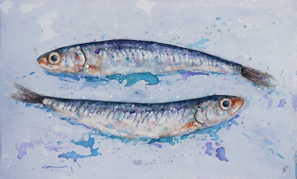 Anchovies by Giles Ward