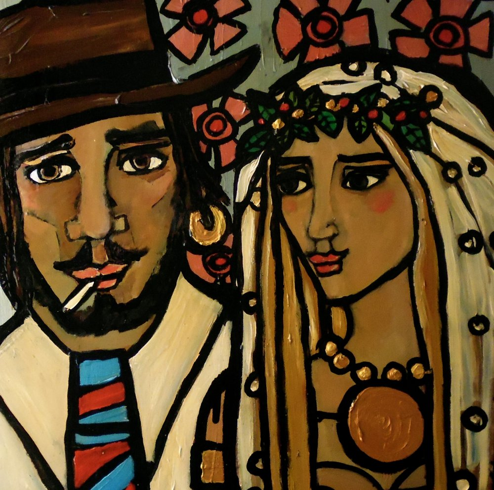 Bride and Groom by Harriet Whyatt