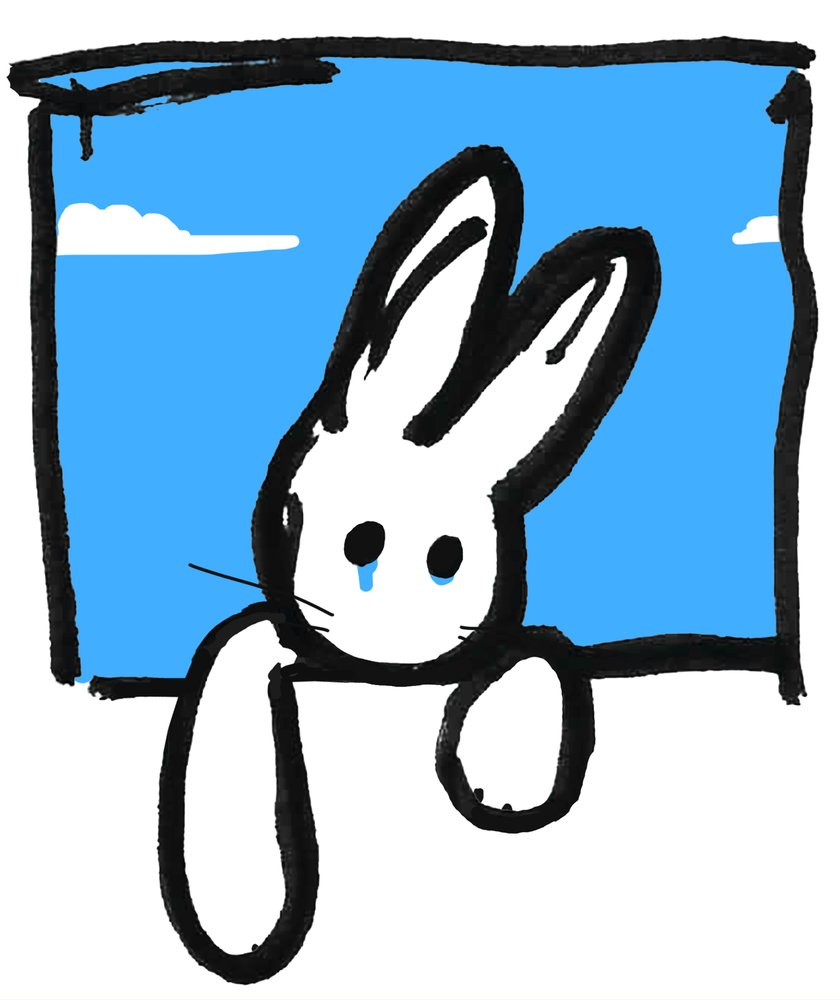Rabbit For Keith #2 by Harry Bunce