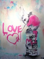 Making Love II (Pink) by Harry Bunce