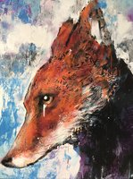 Study of Fox  by Harry Bunce