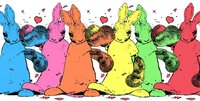 United Colours of Bunny Town by Harry Bunce