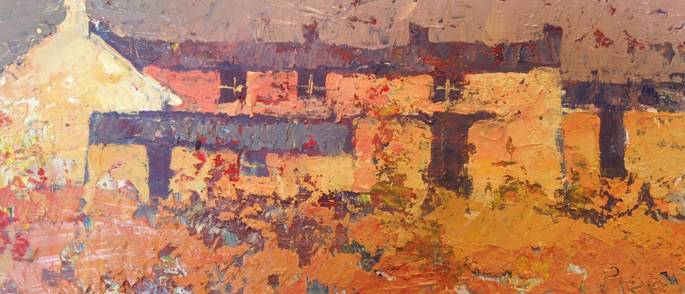 Russet Cottages by John Piper