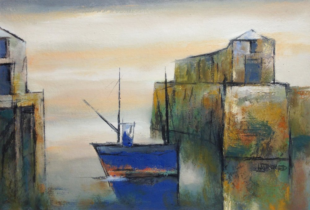 The Blue Boat by Michael Praed