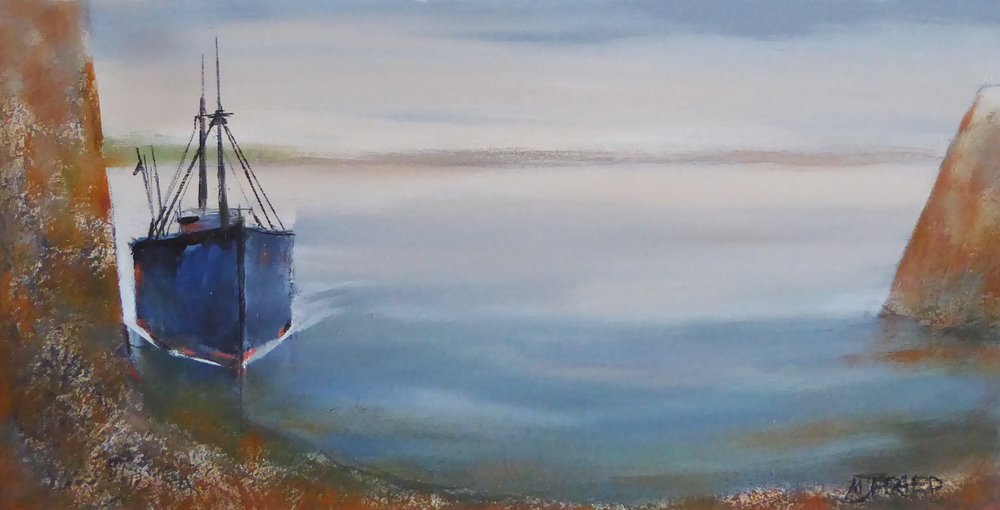 Coming Alongside, Calm Morning by Michael Praed