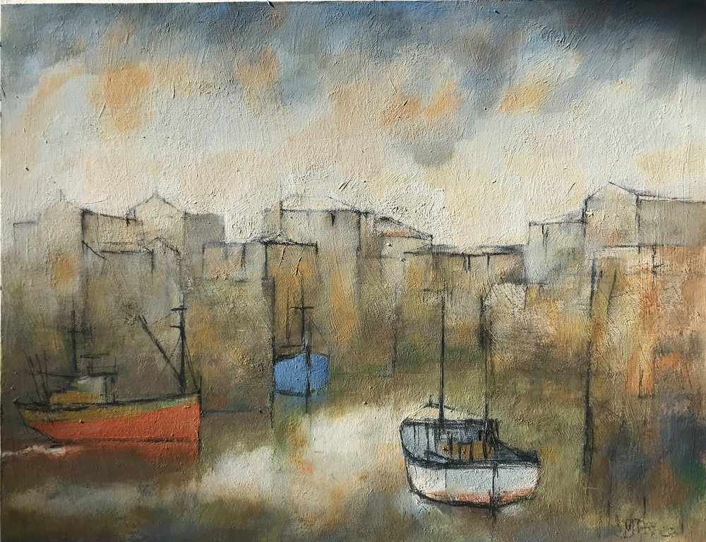 Harbour Entrance by Michael Praed