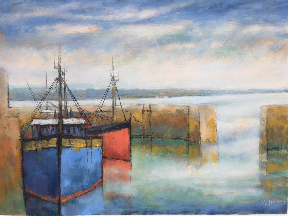 Early Morning Harbour Light by Michael Praed