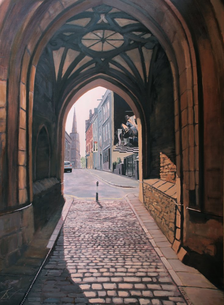 St John's Arch by Tom White