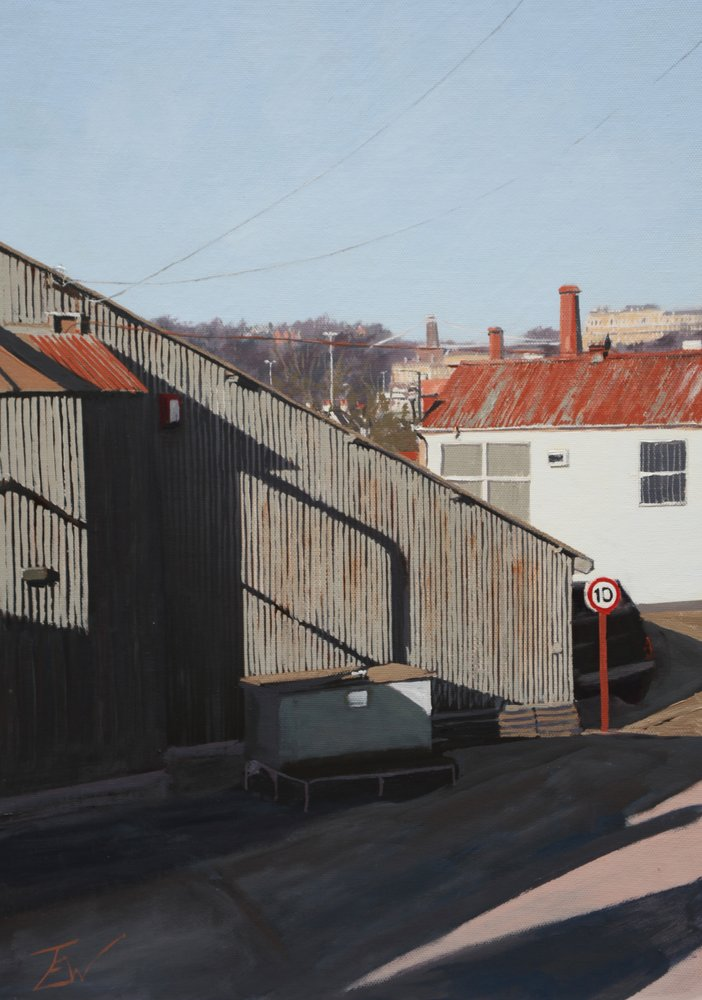 Rust on the Roof by Tom White