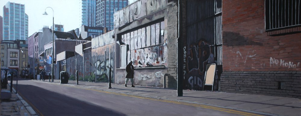 Early Morning Brick Lane  by Tom White