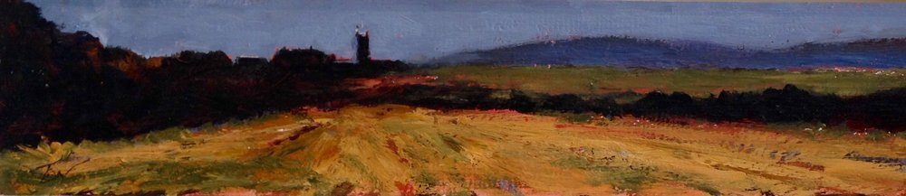 St Buryan - Evening by Tom White