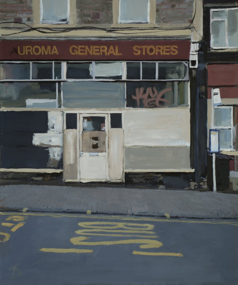 Uroma General Stores, North Street, Bedminster, Bristol. by Tom White.