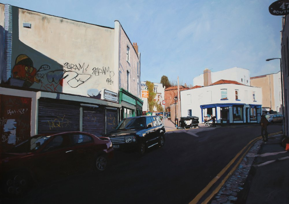 York Road / Picton Street, Montpelier, Bristol by Tom White.