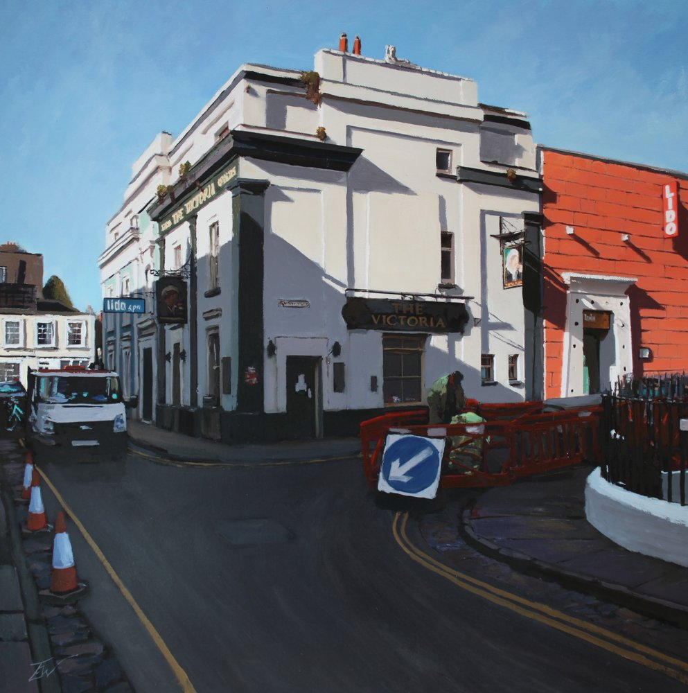 the Victoria pub, Southleigh Road, Bristol. by Tom White.